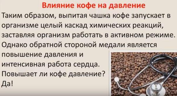 Кофеин и сердечно-сосудистая система
