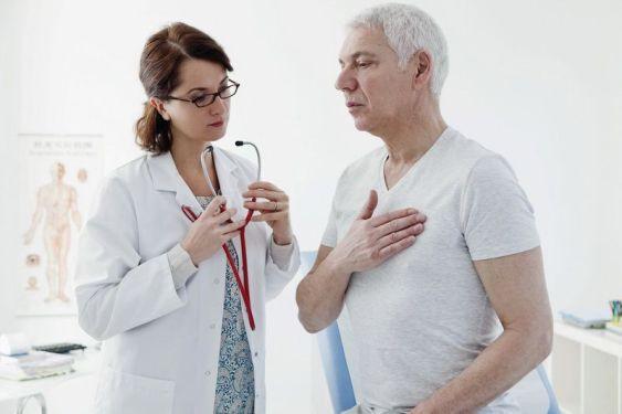 Фото обследование пациента гипертензия