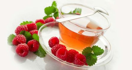 Чай и малина понижают давление