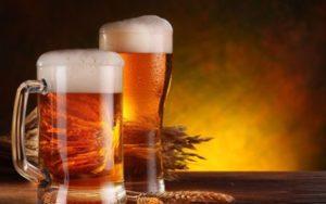 Пиво и давление человека