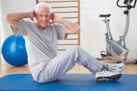 Упражнение от гипертонии