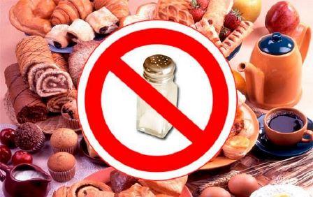 Что запрещено кушать при кризе