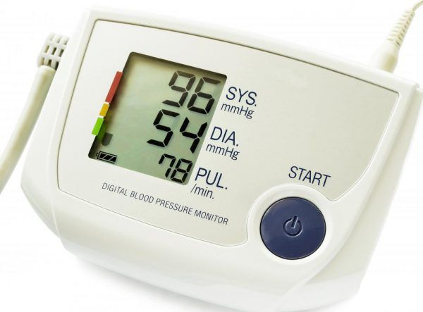 Пониженное давление и низкая температура тела