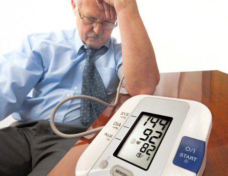 Симптомы гипертонии у мужчин