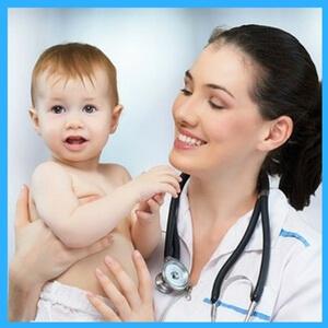 Ребенок у участкового педиатра
