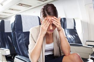 Стало плохо в самолете