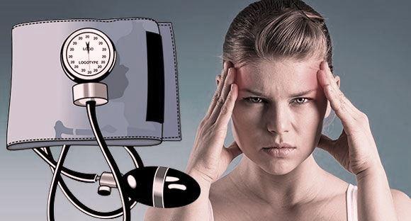Симптомы ПМС и гипертонии
