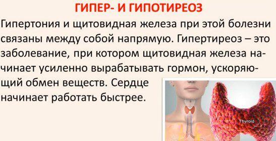 давление при гипотиреозе